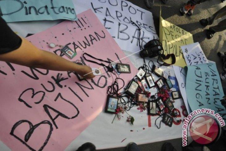 Dewan Pers Soroti Pelecahan Profesi Wartawan Peliput Demo