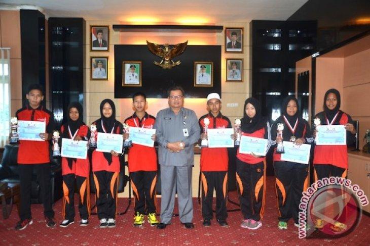Santri Balangan Boyong Delapan Piala Pospeda Kalsel