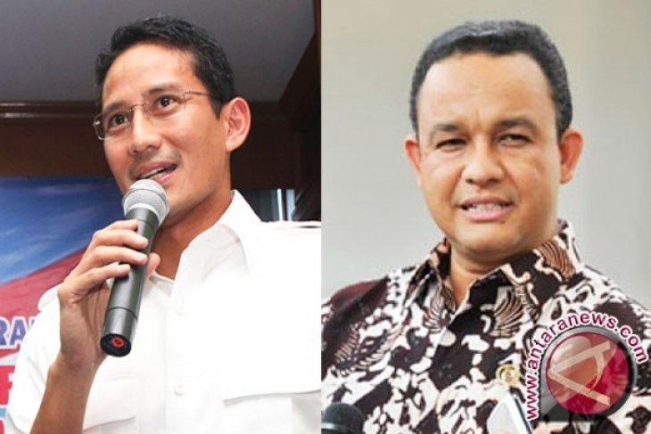 Partai Gerindra dan PKS usung Anies Baswedan dan Sandiaga Uno di Pilkada DKI