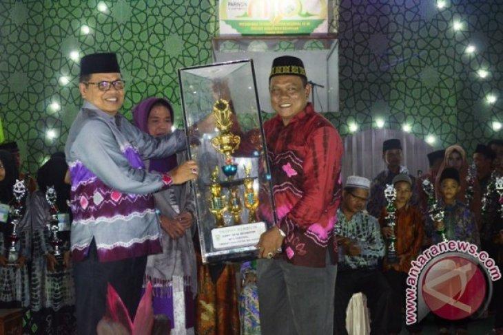 Awayan Kembali Juara Umum MTQ Kabupaten Balangan