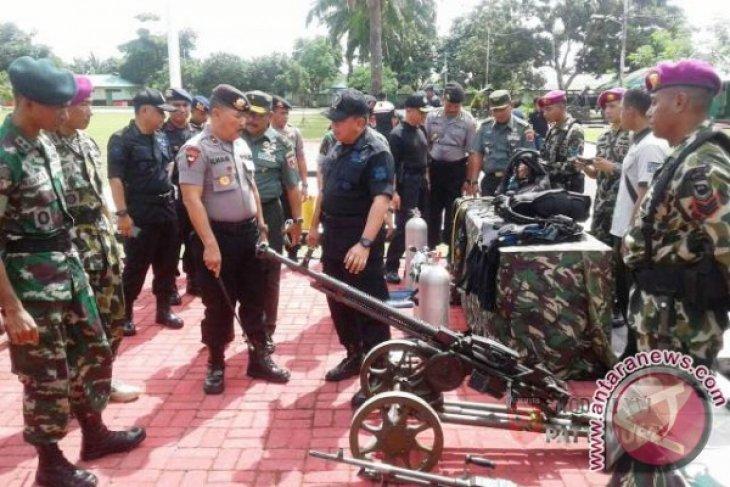 BNPT TNIPolri Apel Siaga Terorisme di Ambon