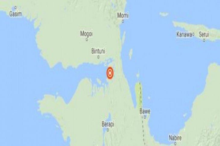 Magnitude 4.8 aftershock jolts Bintuni, West Papua