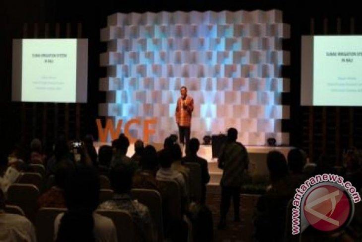 WCF 2016: interpreting water as the source of life