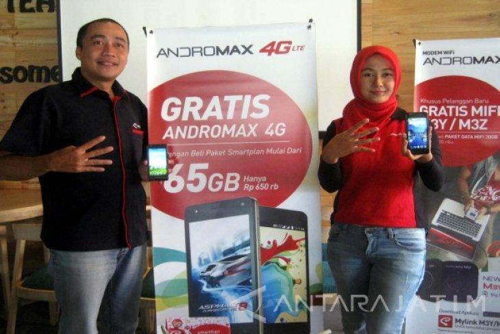Smartfren Permudah Masyarakat Nikmati Jaringan 4G LTE