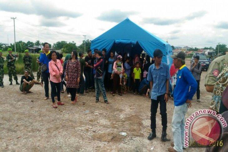 Dinsosnaker Pangkalpinang Gelar Simulasi Kampung Siaga Bencana