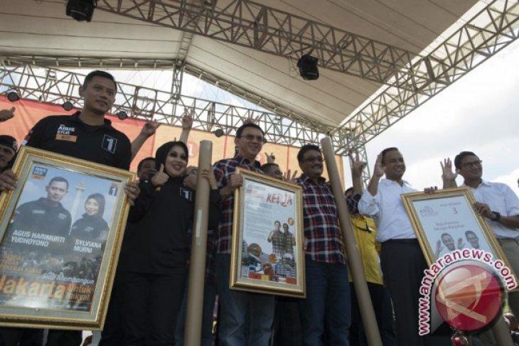 Declaration of peace marks Jakarta gubernatorial election campaign