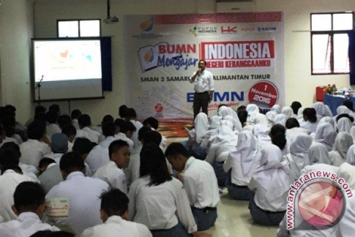 BUMN Mengajar Kunjungi Sekolah Unggulan di Samarinda