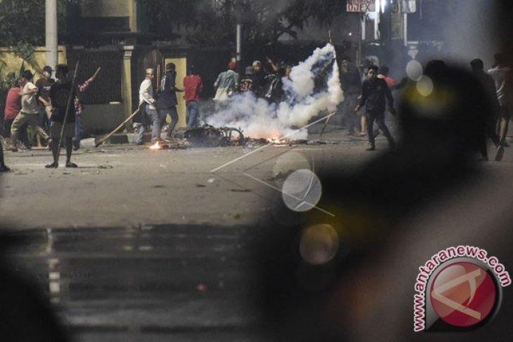Polisi periksa 25 orang terkait kerusuhan demonstrasi