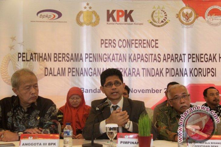 KPK perkuat kapasitas penegak hukum di Aceh
