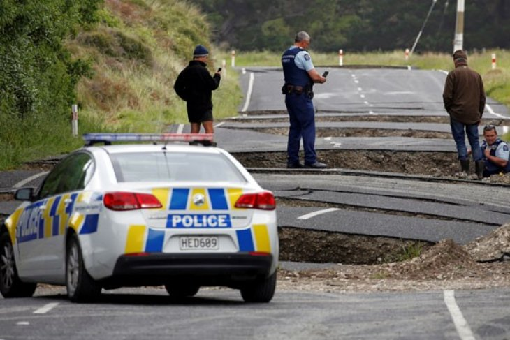 Selandia Baru waspada tsunami setelah gempa kuat di Pasifik