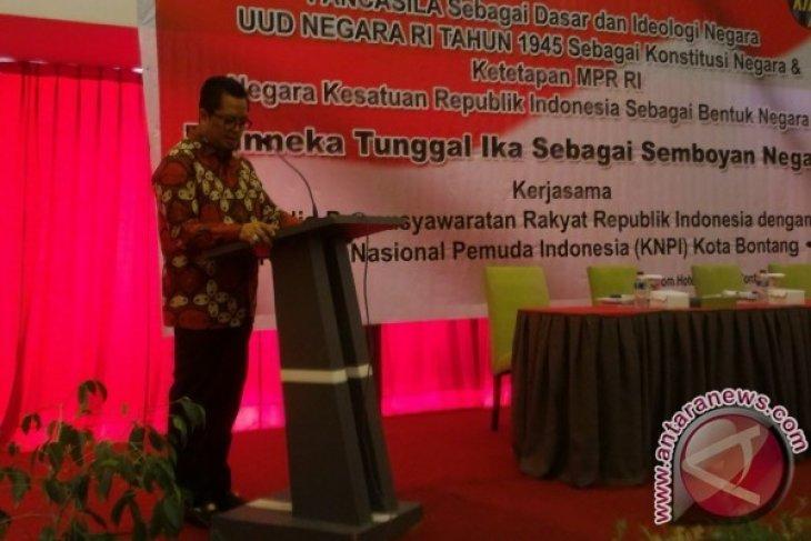 Wakil Ketua MPR Ajak Pemuda Bontang Gali Wawasan Kebangsaan