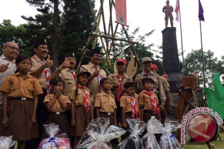 Kemah Aksi Pramuka Peduli Di Bali