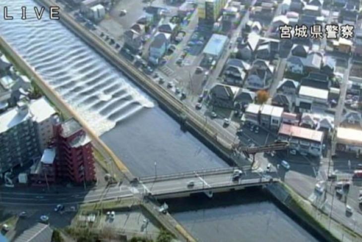 Gempa 5,5 magnitudo guncang Jepang