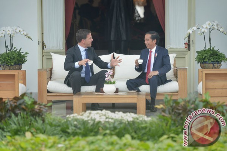 President Jokowi receives Dutch Prime Minister