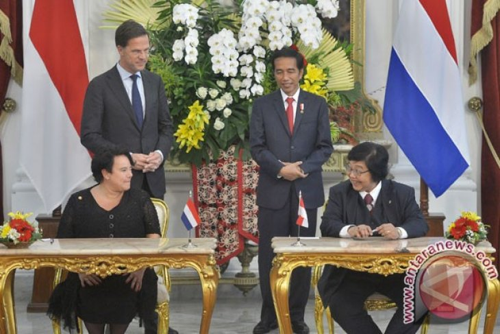 PM Belanda bertemu Presiden Jokowi di Bogor