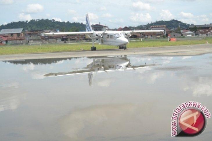 Landasan Temindung Banjir, Penerbangan ke Pedalaman Kaltim Tertunda