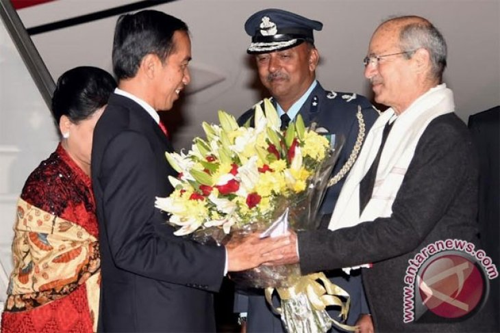 President Joko Widodo arrives in India for two day state visit