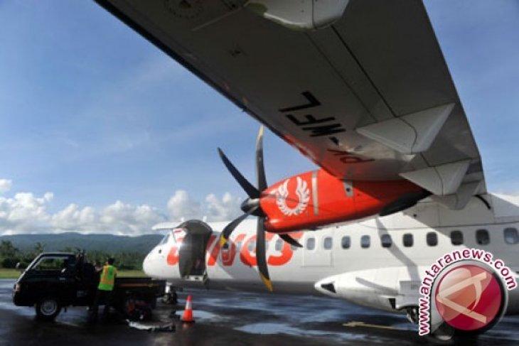 Pesawat Wings Air Terbang ke Bandara Trunojoyo