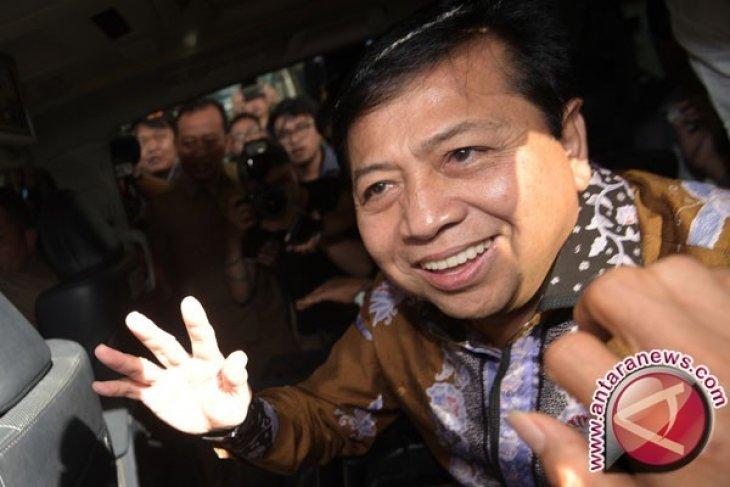 Harapan Novanto terhadap sekjen baru DPR