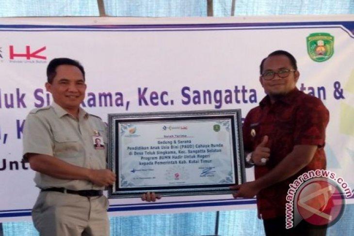 BUMN Serahkan Bantuan Gedung PAUD Desa Terpencil