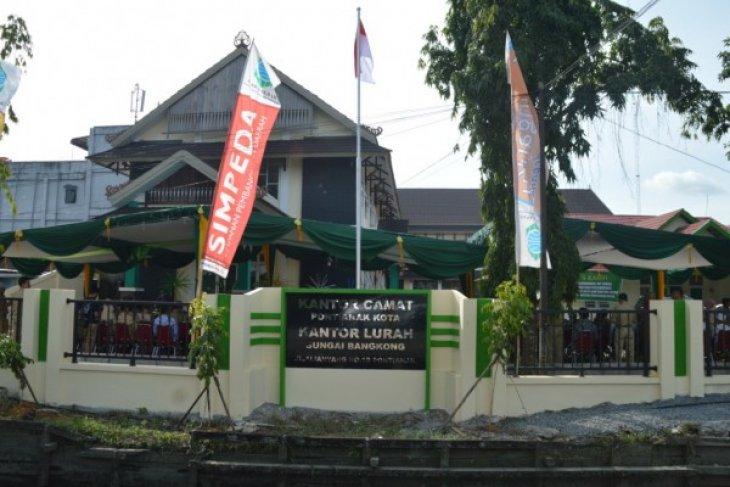 Sutarmidji Resmikan Kantor Camat Pontianak Kota Antara News Kalimantan Barat