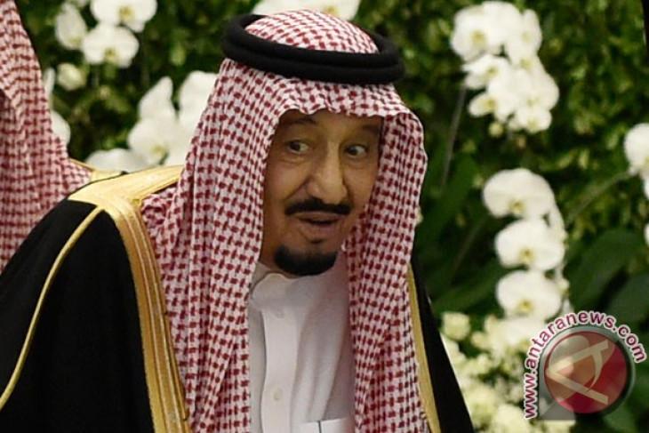 Jokowi calls saudi King Salman to bid farewell