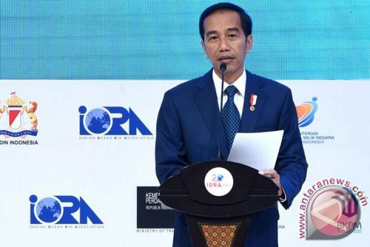 President attends iora summit in blue