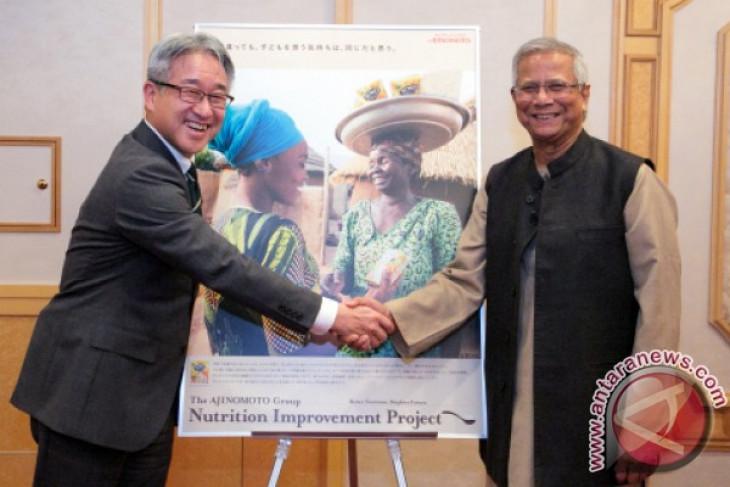 Nobel Peace Prize winner Prof. Yunus praises Ajinomoto for its sustainable social business