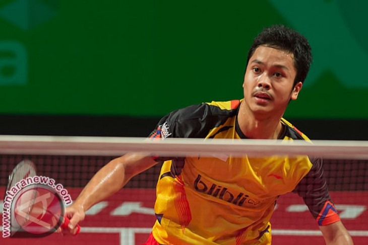 Indonesia`s Ginting defeats Denmark`s Axelsen in Sudirman Cup