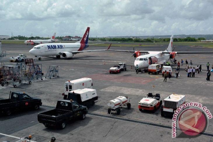 International flights from Bali up 5.59 percent in number