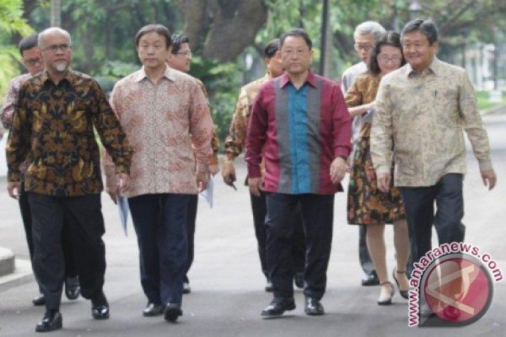 Presiden Jokowi receives Toyota Motor executives