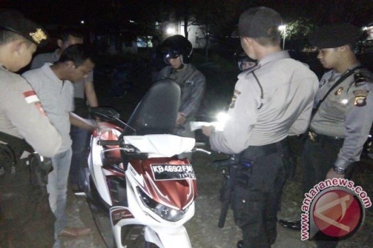 Polres Kapuas Hulu Razia Malam Cegah Jambret