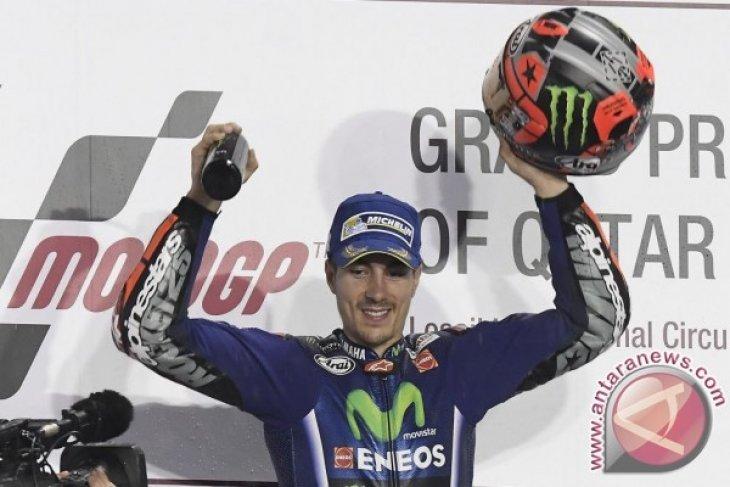 Ketenangan Jadi Kunci Vinales Menangi Seri Pembuka MotoGP
