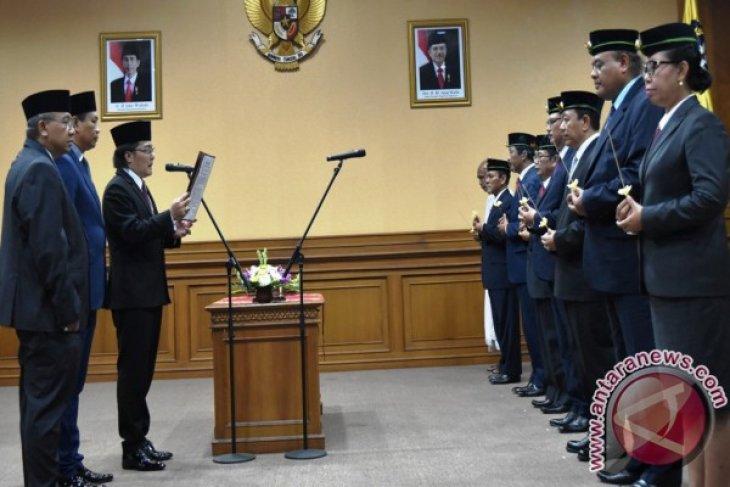 Bupati Badung Lantik Tujuh Pejabat Eselon IIB