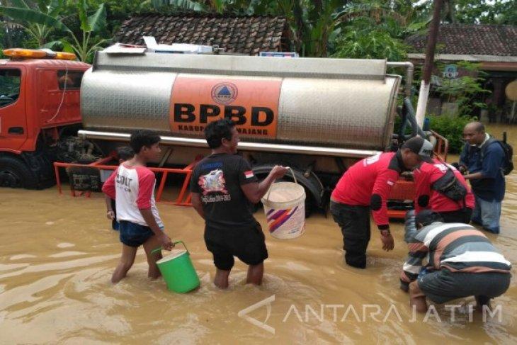 Genangan Banjir di Lumajang Mulai Surut