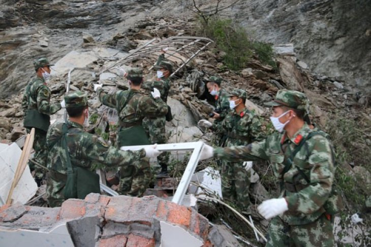 Longsor di China, 11 orang dilaporkan tewas dan puluhan lainnya hilang