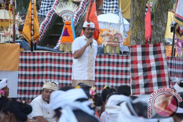 Wagub Bali Hadiri Ritual Pekraman Lod Tunduh