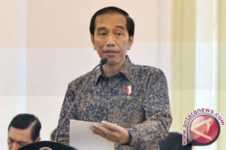 Presiden Jokowi: tak ada reshuffle minggu ini
