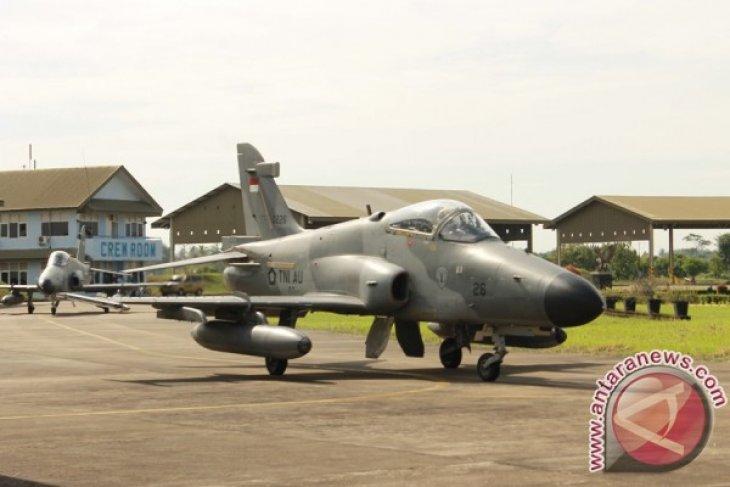 Skadron Udara I Lanud Supadio Latihan Weapon Delivery di Riau