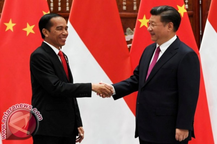Jokowi, Jinping witness signing of three agreements