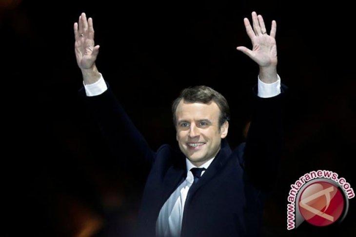 Prancis tembus semifinal, Macron siap hadir di Rusia