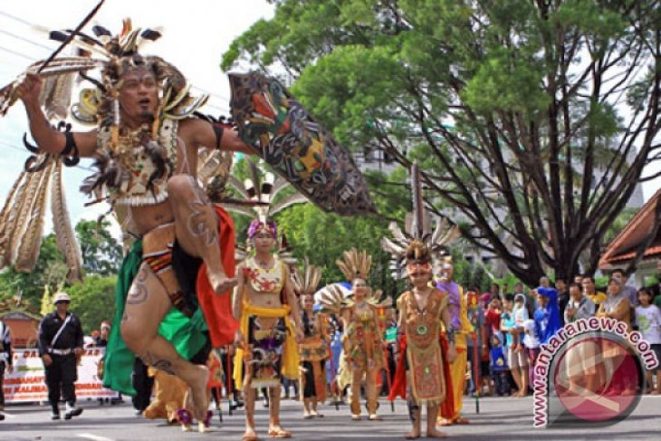 Murung Raya Juara Festival Isen Mulang Kalteng