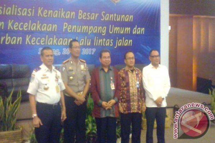 Jasa Raharja Banten Sosialisasikan Kenaikan Santunan