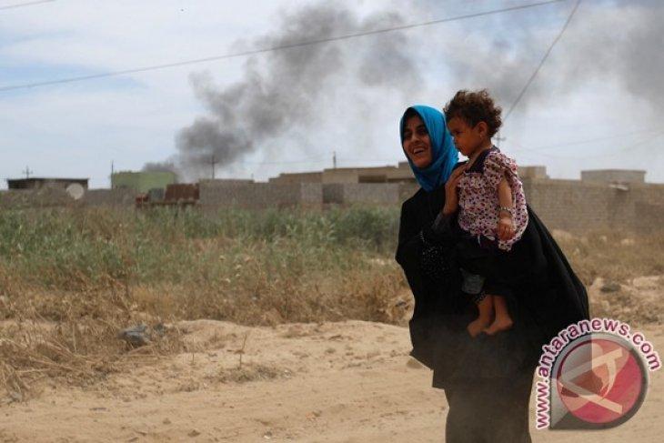 Sebagian warga Mosul kembali nikmati kehidupan normal awal Ramadhan