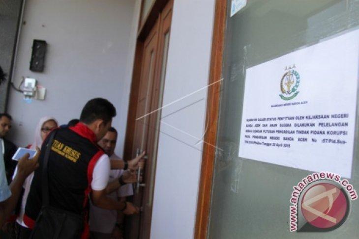 Kejari sita rumah mantan Wali Kota Banda Aceh