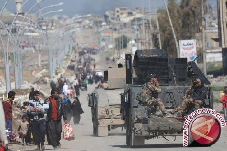 Jalur penting ISIS di perbatasan Suriah jatuh ke tangan milisi Irak