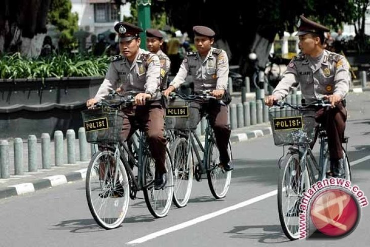 Patroli Bersepeda Sasar Pasar Wadai Ramadhan