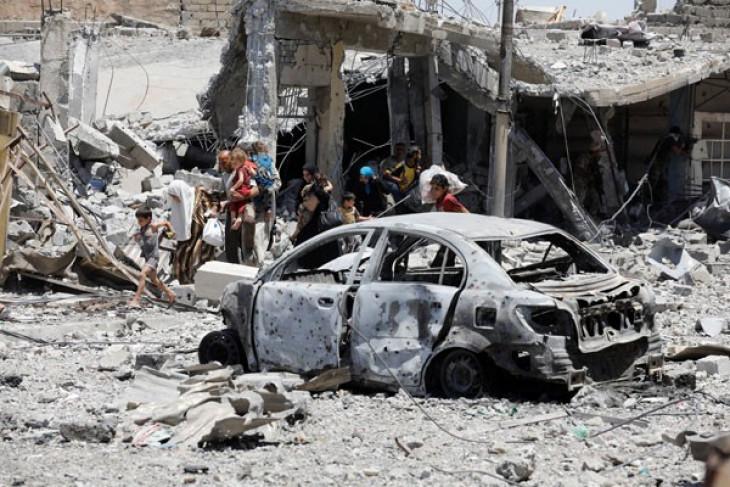Huge blast in Mogadishu