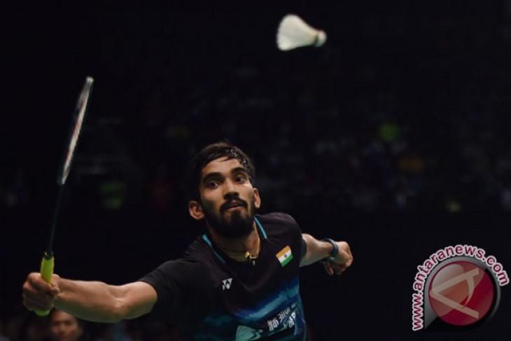 Lalui babak pertama Denmark Open,Pebulu tangkis India  Kidambi akui masih butuh penyesuaian