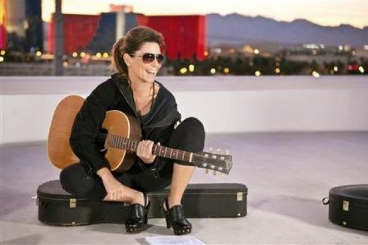 "Shania Twain bounces back with ""Now"""
